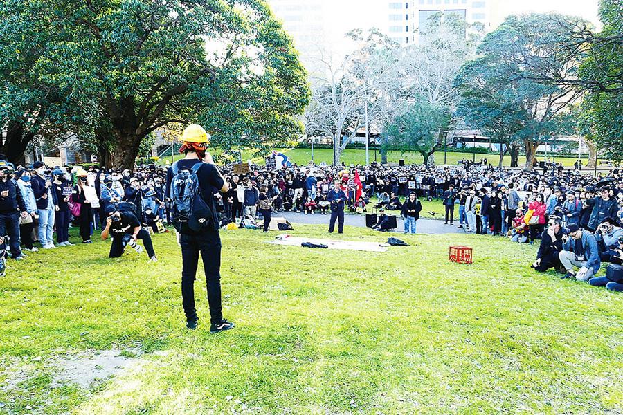 悉尼8‧18集會澳洲各界再次聲援港人守護自由