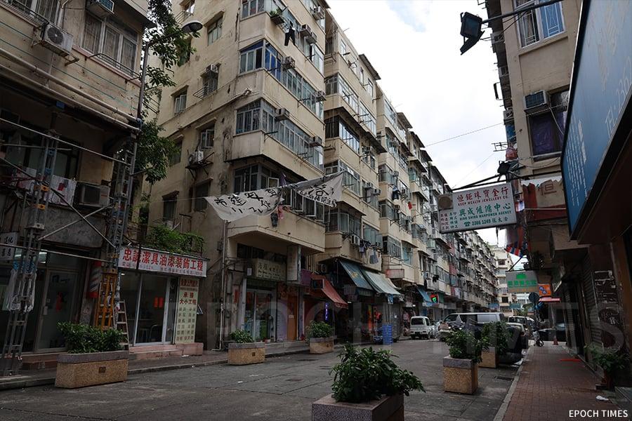 土瓜灣鴻福街。(陳仲明/大紀元)