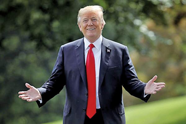 特朗普:白宮在討論減稅 美經濟仍強勁