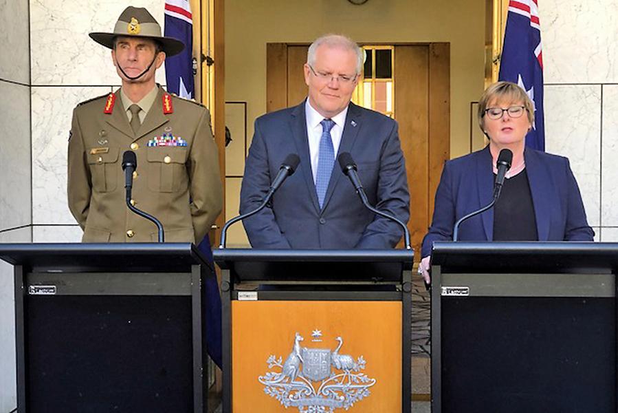 美波斯灣護航聯盟 澳洲宣佈加入並將派兵