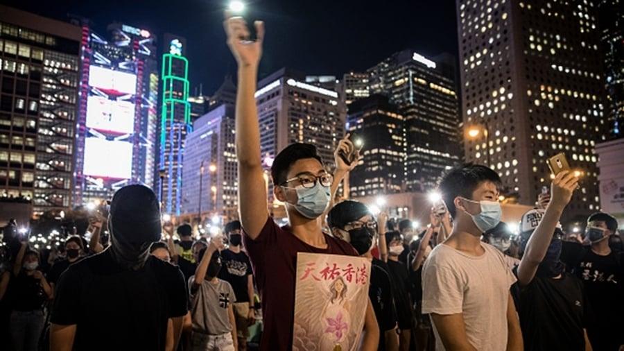 香港大學生罷課獲中學生聲援:自由比學習重要