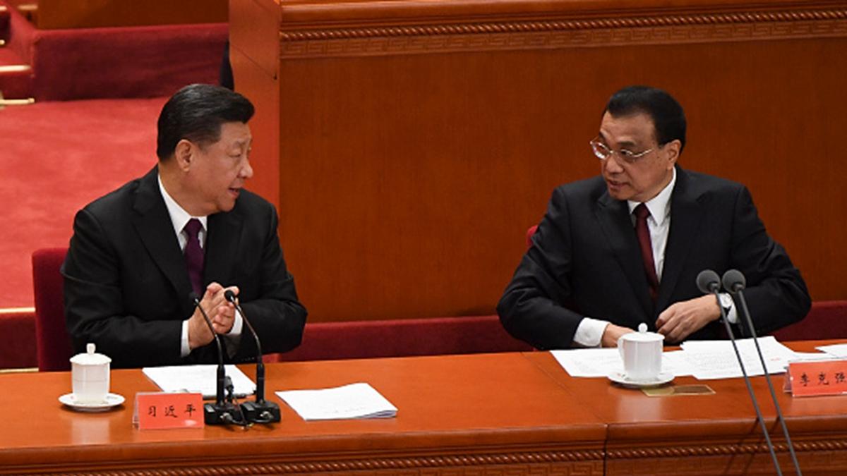 有在港紅二代披露,李克強說,「香港人是壓不服的」,「林鄭這個人,絕對信不過」。並要求港府立即解決民生問題。(WANG ZHAO/AFP/Getty Images)