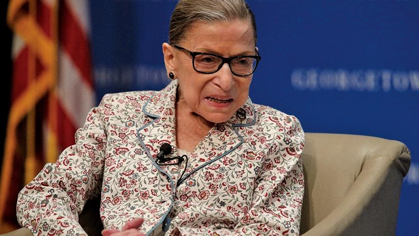 美國最高法院自由派大法官金斯伯格(Ruth Bader Ginsburg)。(Getty Images)