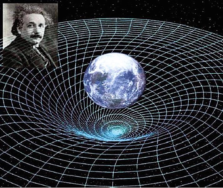 利用相對論 首繪宇宙時空圖