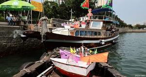香港仔漁民社區水上盂蘭