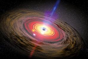 宇宙災難性事件 黑洞吞噬中子星首次被發現