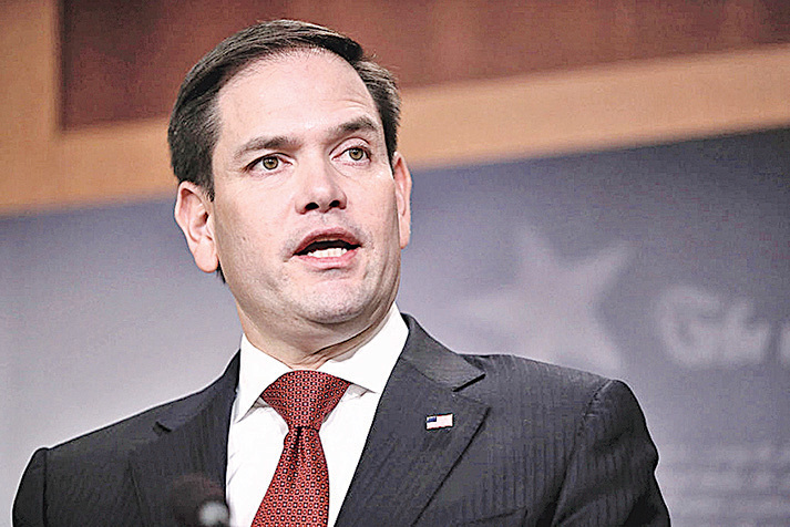 美國參議員盧比奧。(Getty Images)