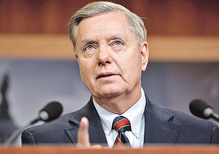 美國參議員格雷厄姆。(Getty Images)