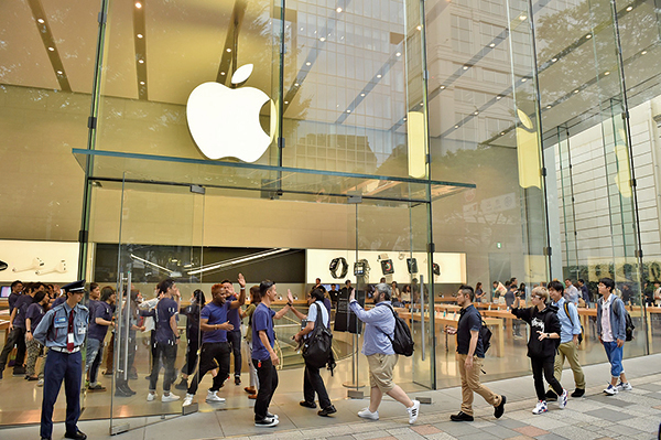 不懼貿易戰 華爾街上調蘋果目標價