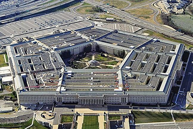 美國軍方高級官員表示,美國正與澳洲合作生產稀土,以減少對中國稀土的依賴。圖為美國五角大樓(國防部)。(Getty Images)