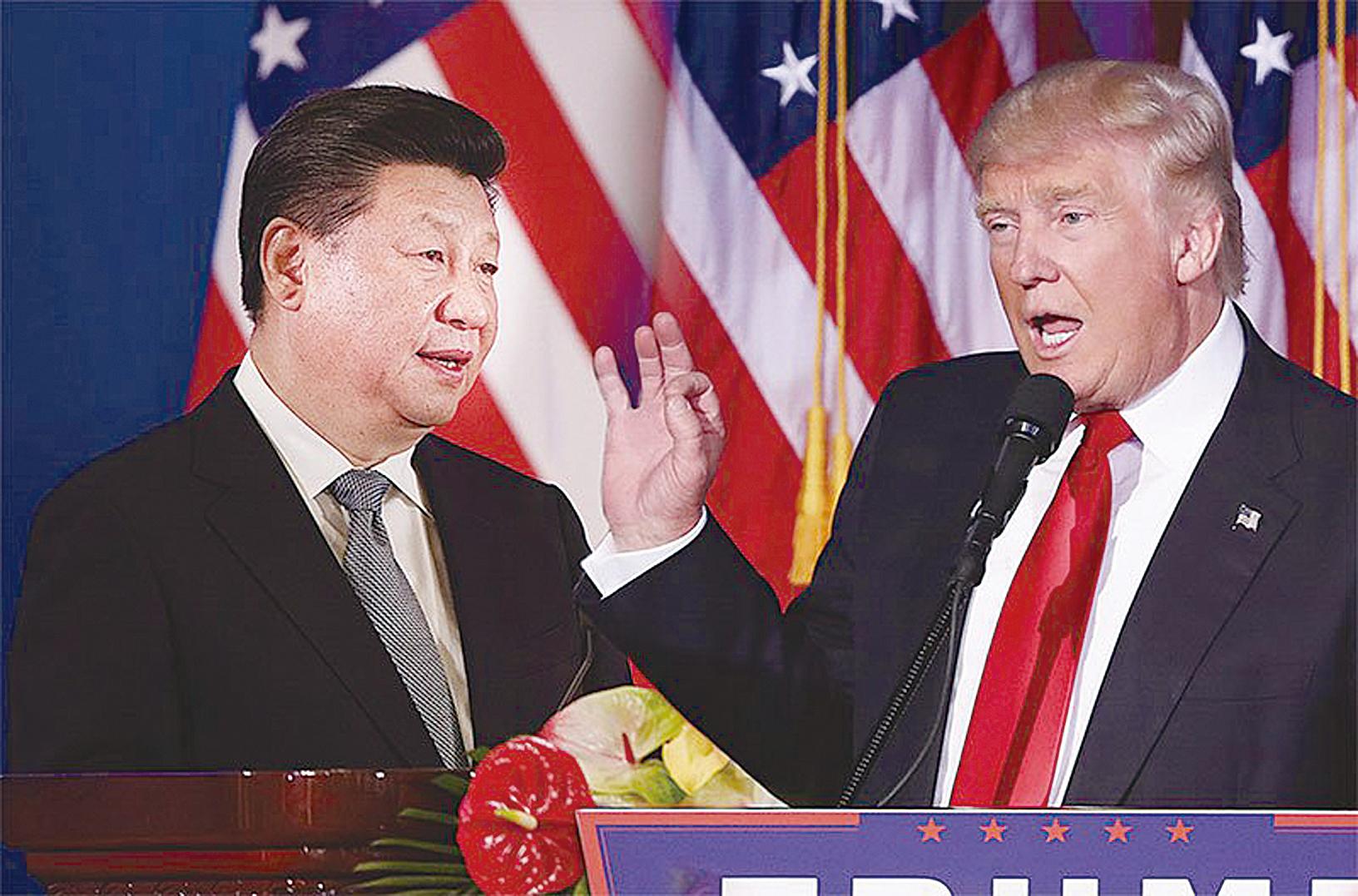 8月23日,中共宣佈對750億美元的美國商品加徵報復性關稅,美國總統特朗普發推回應說,要求美國公司立即尋找中國公司產品的替代者。(大紀元合成圖)