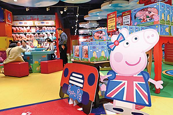 著名的玩具製造商孩之寶(Hasbro)首席執行官布萊恩戈德納表示,公司將業務從中國轉移出去。圖為孩之寶玩具。(AFP)
