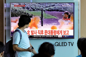 北韓頻射彈道導彈   美對日售七十三枚攔截導彈