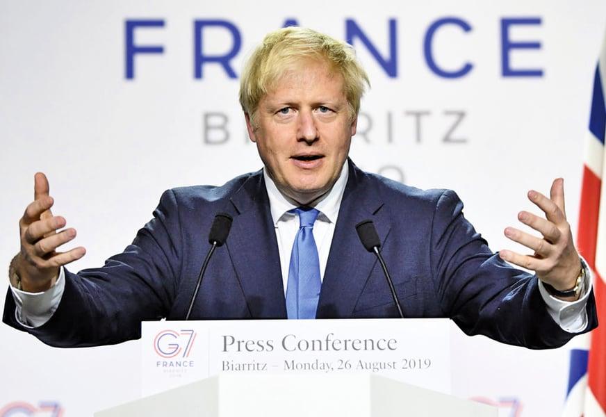 英政府將請女王暫停議會