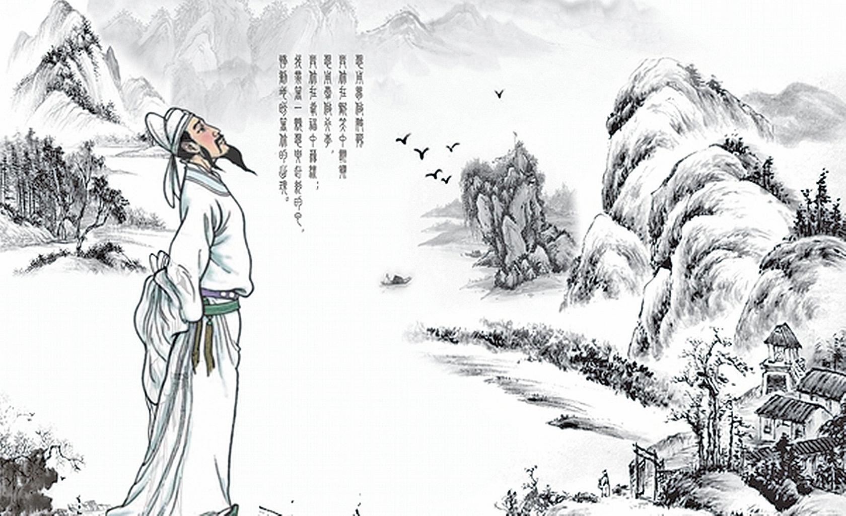 詩仙李白在文學史上的成就和地位上首屈一指,他的後人又如何呢?(授權圖片)
