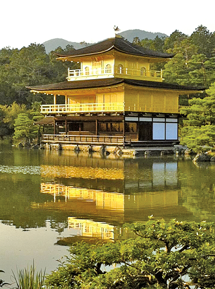 日本京都金閣寺(貫明提供)