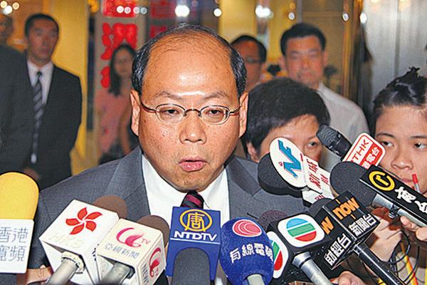 前警務處處長曾偉雄曾赴北京國家行政學院修讀進階國家事務研習課程。(大紀元資料圖片)
