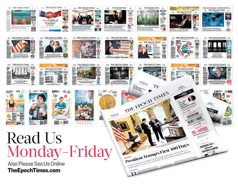 《華爾街日報》刊英文《大紀元》發行人文章: NBC誹謗競爭者