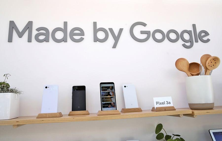 谷歌從中國移出手機生產