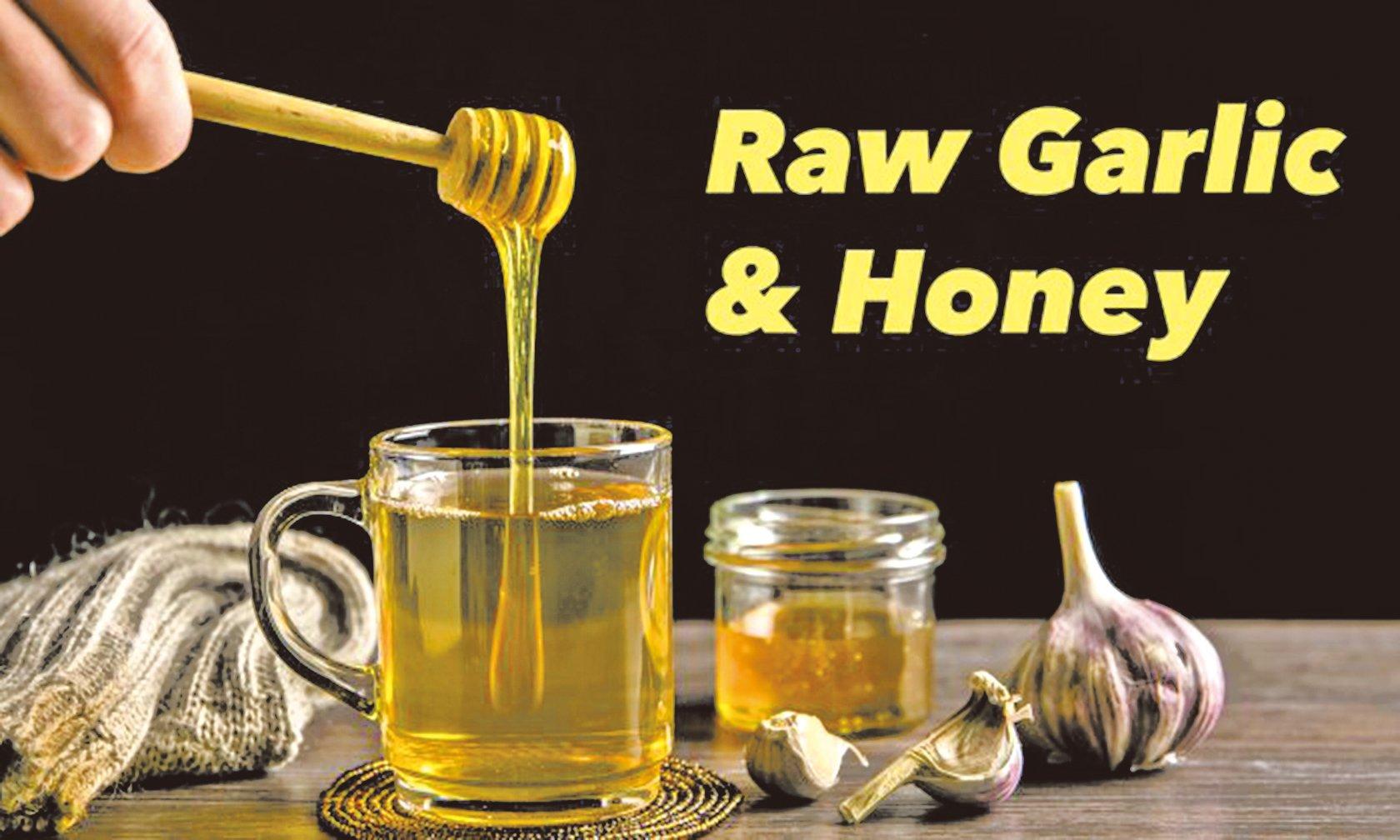 大蒜和蜂蜜一起食用好處多,可以阻止了壞膽固醇的積累,降低血壓,平衡血糖,並清理了腸道。 ( Shutterstock)