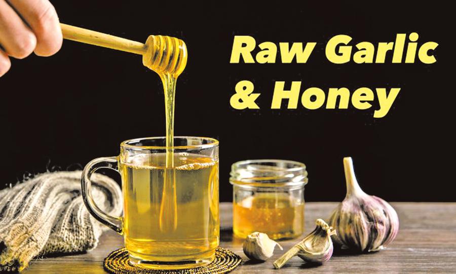 蜂蜜配大蒜 吃出不一般的健康