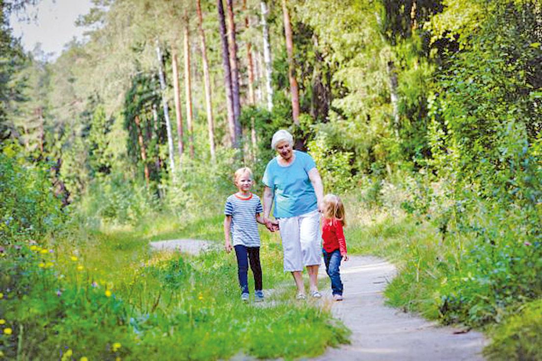 大自然能幫助人們超脫現代世界,重新感受到永恆的偉大之感。新鮮的空氣,陽光和運動對身體和心靈都有好處。(Shutterstock)