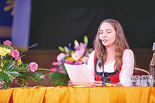 來自奧地利的克莉絲蒂娜‧施皮爾克(Christina Spirk)(曉龍攝)