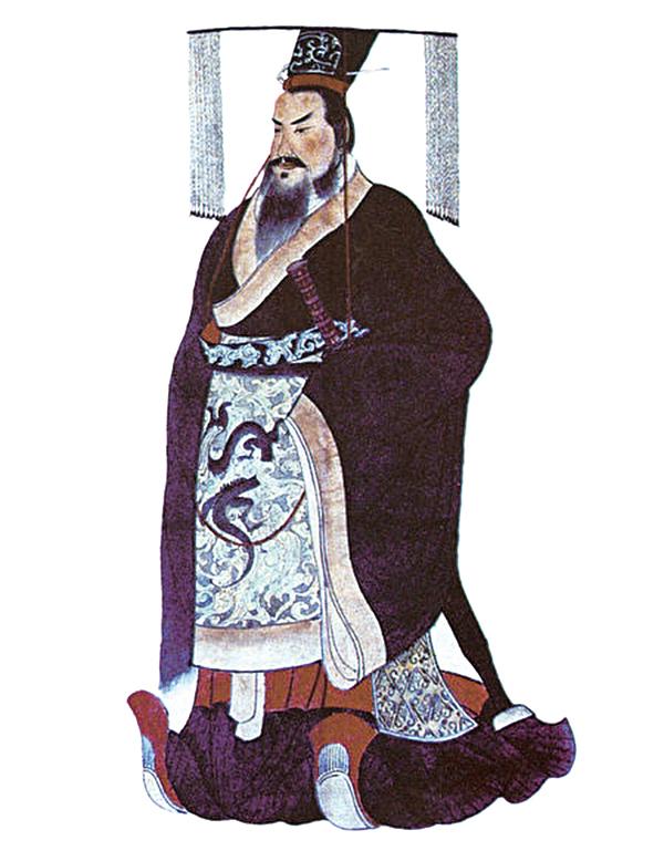 秦始皇像(公有領域)