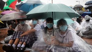 香港開學日大罷課 百校21行業齊聲援