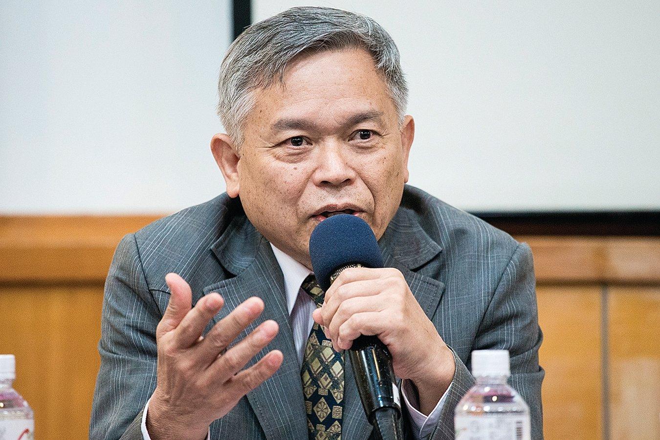 台大經濟系教授張清溪,資料照片。(陳柏州/大紀元)