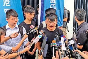 香港眾志副主席鄭家朗遇襲