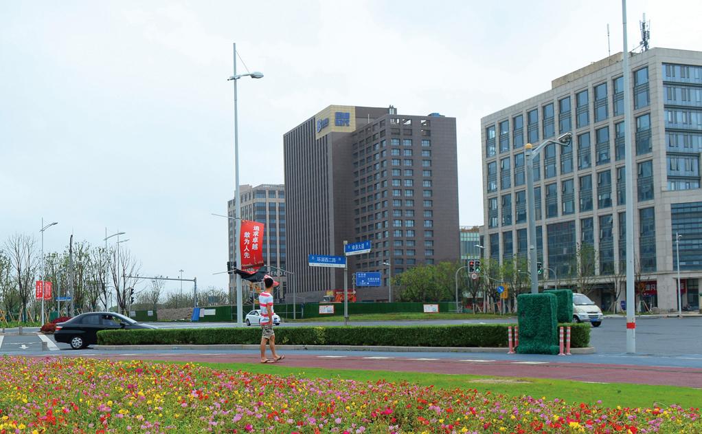 近年8月才新設立的上海自貿區臨港新片區。(大紀元資料室)