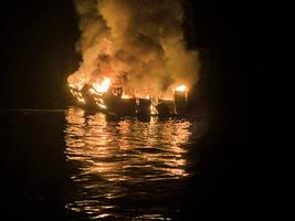 加州潛水遊艇大火 25死9人失蹤