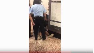 港議員公佈多影片 港警重傷少年致毫無反應(影片)