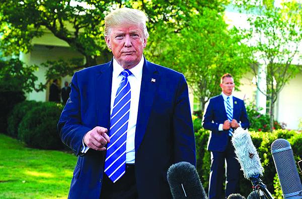 警告中共貿易談判不要拖延 特朗普:連任後立場更強硬