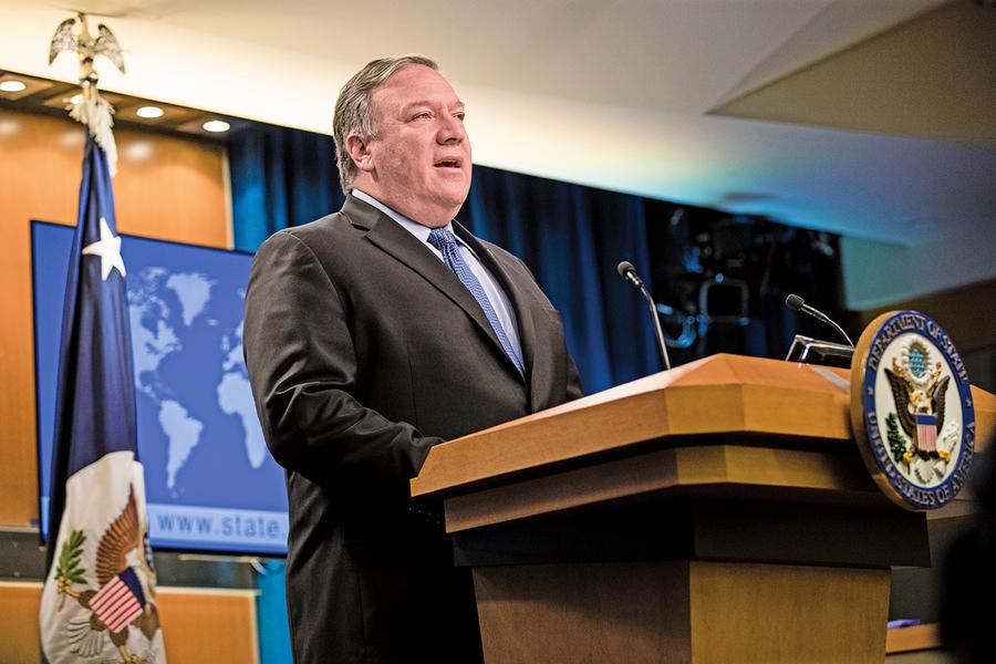 美國宣佈對伊朗新制裁