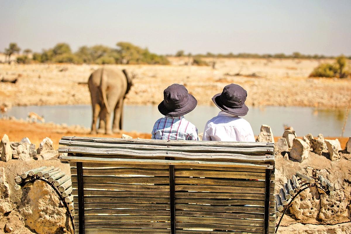 納米比亞的納穆托尼,可體驗原汁原味的獵遊行程。