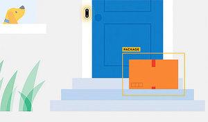 谷歌Nest Hello在門口檢測到包裹後 會自動發通知