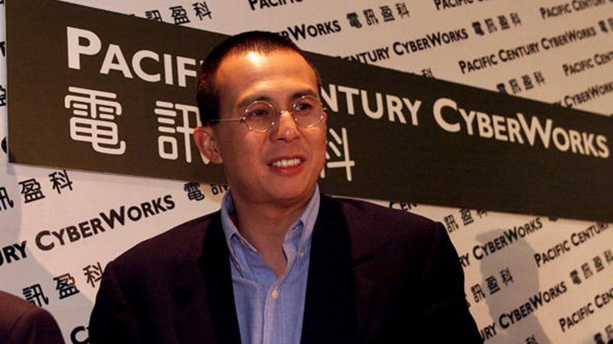 5日,香港首富李嘉誠次子李澤楷,再次在多份香港報章上表態,堅守「一國兩制」,停止暴力 維護秩序。( PETER PARKS/AFP/Getty Images)