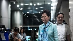 北京氣氛詭異:港府宣布撤例 央視隻字未提