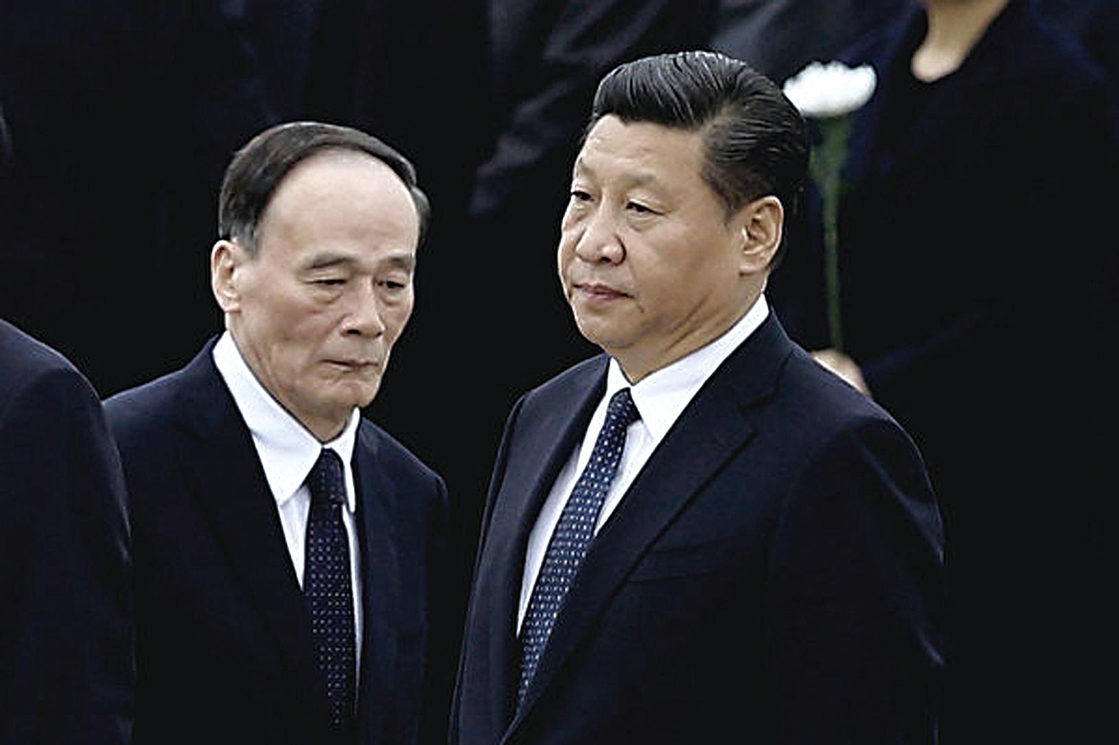 8月29-31日王岐山到訪廣東,日媒報導分析認為,王是替習近平向林鄭傳旨,佈局平息香港事態。(大紀元資料室)