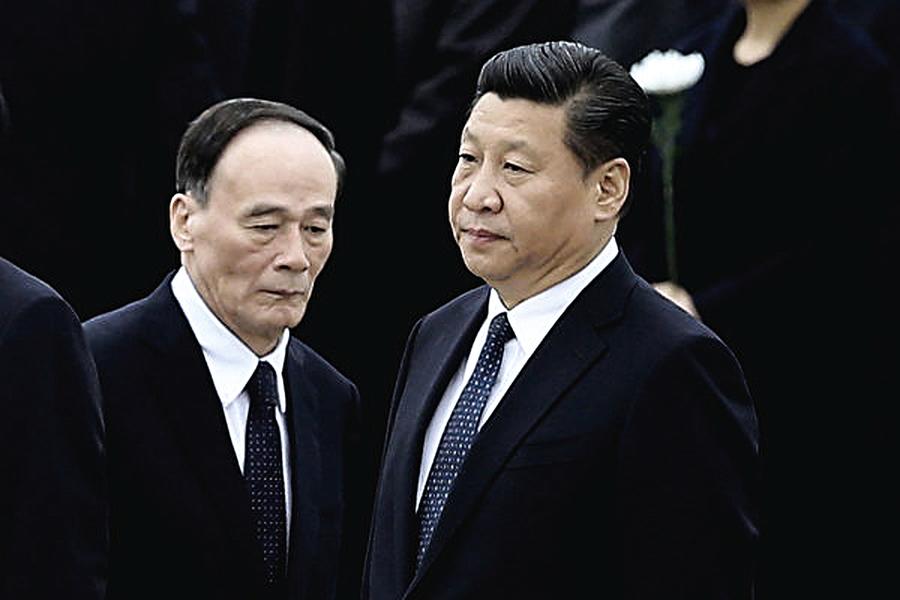 日媒:王岐山廣東調研 實為替習向林鄭傳旨