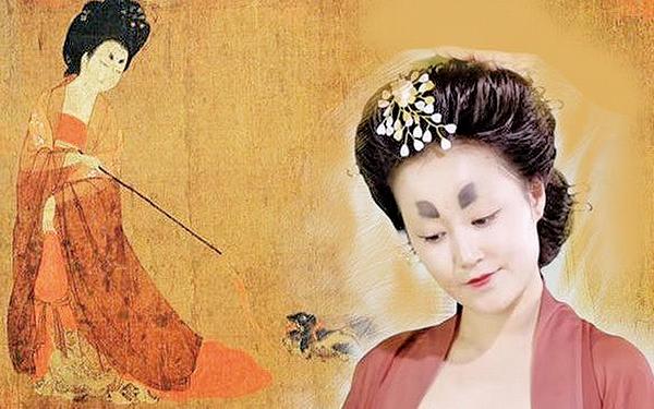 古代女子的妝容(希望之聲合成)