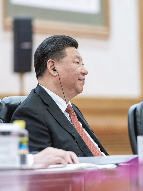 中國國家主席習近平。(AFP)