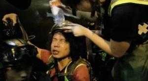 【9.7反送中】阻記者拍攝 速龍向多名記者噴胡椒水