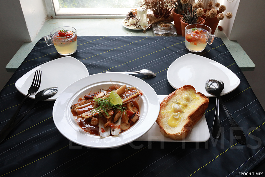 Kitchen Madlic每周都推出不同的美食。(陳仲明/大紀元)