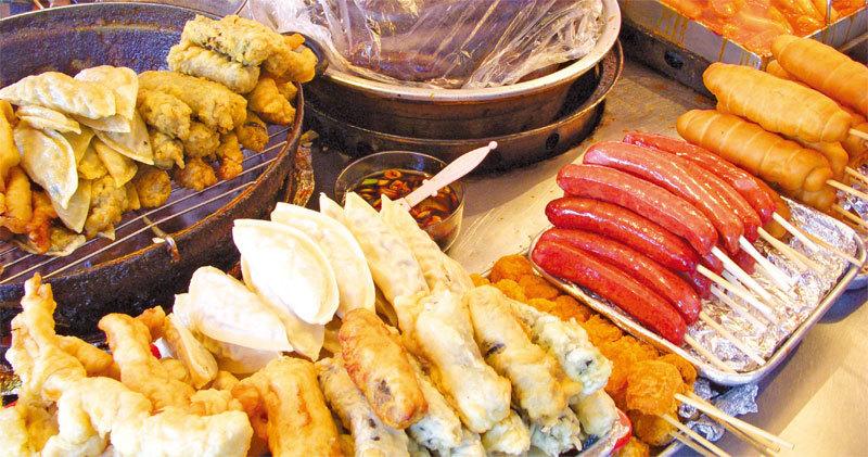 香酥可口的韓國街頭小食。(wikimedia)