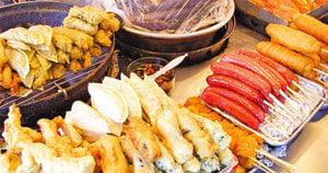 韓國秋冬季街頭美食