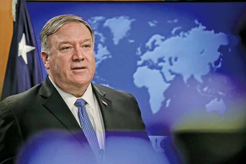 美國國務卿蓬佩奧(Mike Pompeo)於周日(9月8日)表示,美國希望在近期恢復北韓無核化談判。(Getty Images)