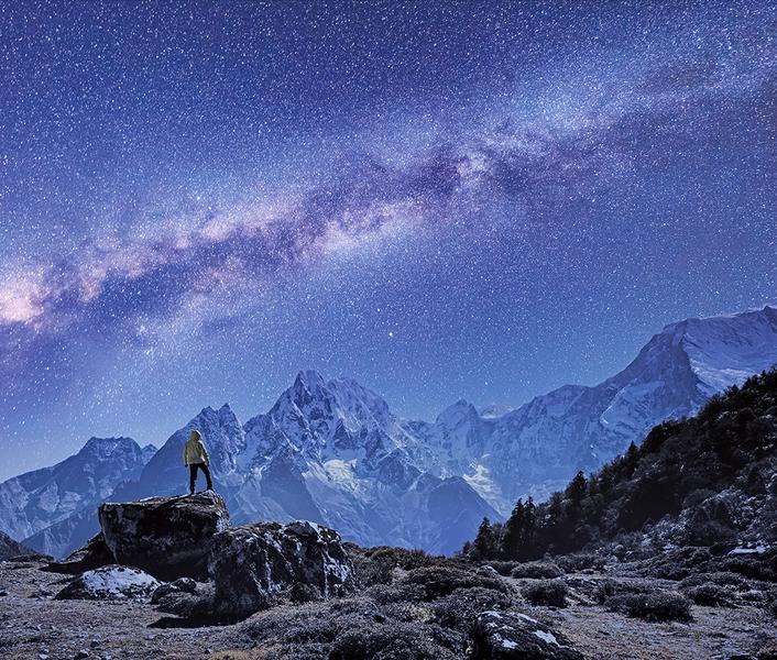 新發現:銀河系內竟有崇山峻嶺
